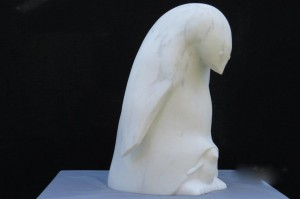 pinguin statuario40x30x20