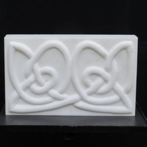 reliëf keltisch motief 38x32x7 statuario